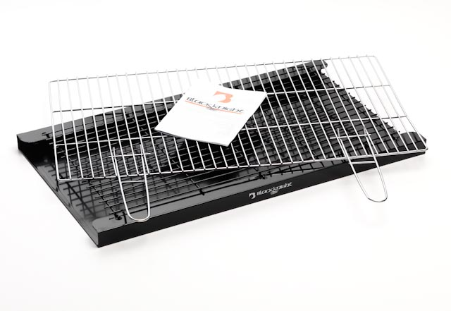 Brick Bbq Kit With Chrome Cooking Grill Bkb200