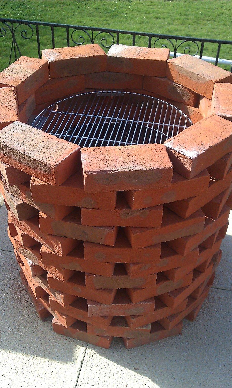 Round Brick Bbq Kits Bkb600