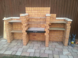 Lots of useful storage for this bbq project