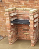 Light bricks with coping stone, great combo