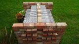 Mirror image design saving bricks