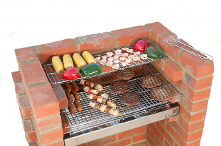 The Original Black Knight Brick Barbecue Kit