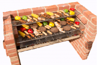 The First Extra Large Kit by Black Knight Barbecues